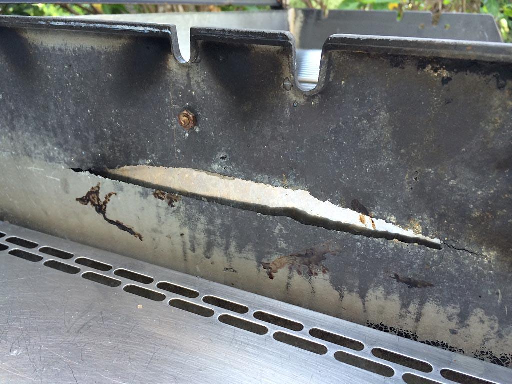 Fire box burn-through