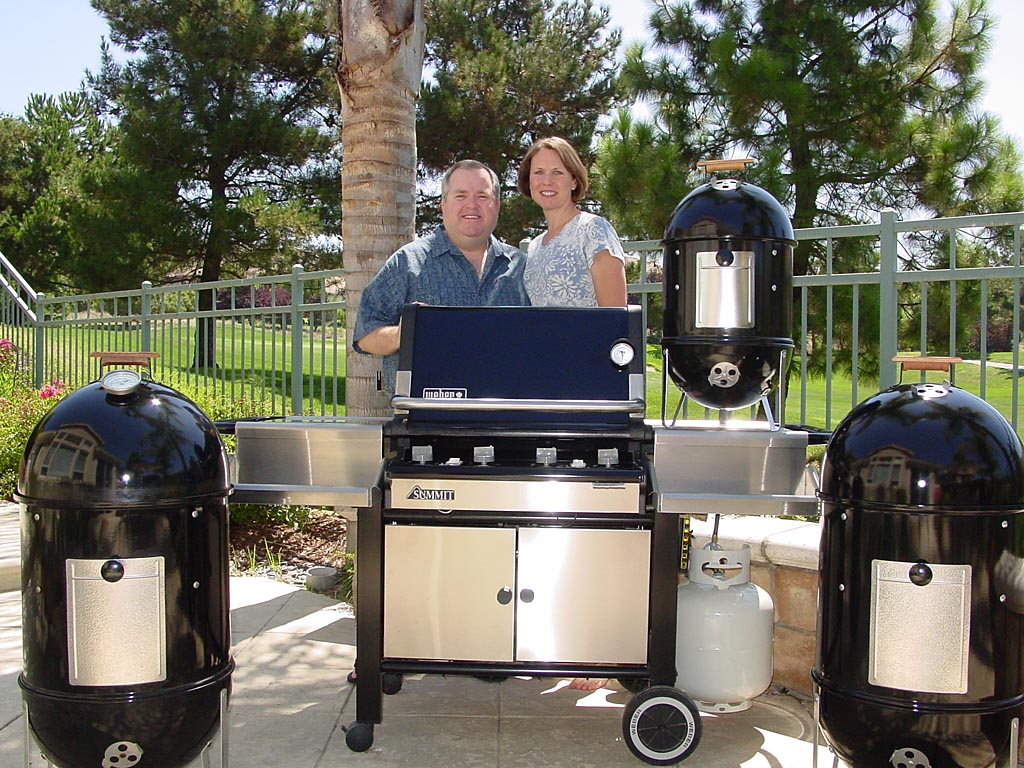 Who's the grill collector in this family?