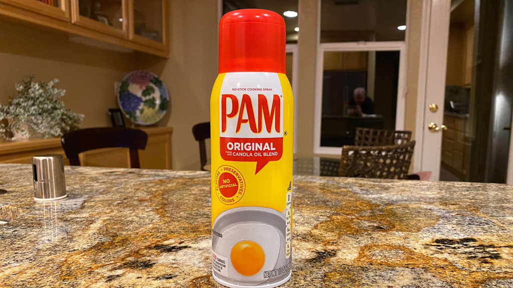 My secret to preventing sticking on the grill: PAM non-stick cooking spray