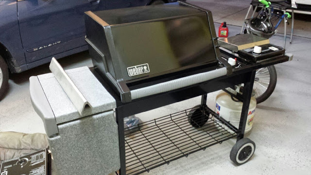 Weber Genesis Silver C ready to go back into service for years to come.