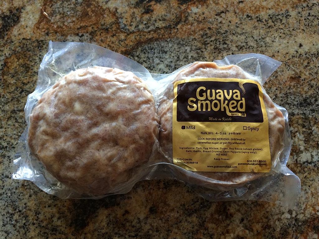 Guava Smoked pork patties