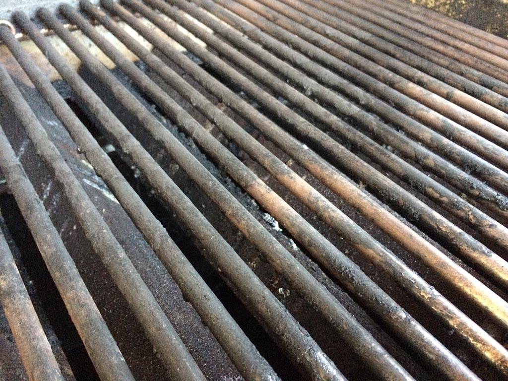 Grates ready for the next steak