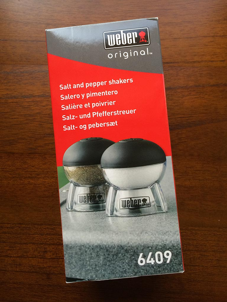 Weber 6409 Salt & Pepper Shakers