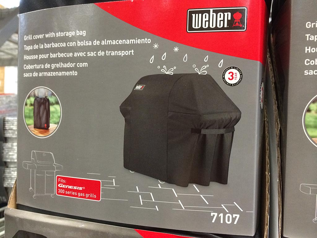 Close-up of Weber 7101 packaging