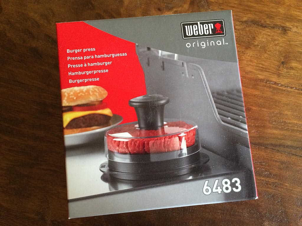 Weber 6483 Burger Press