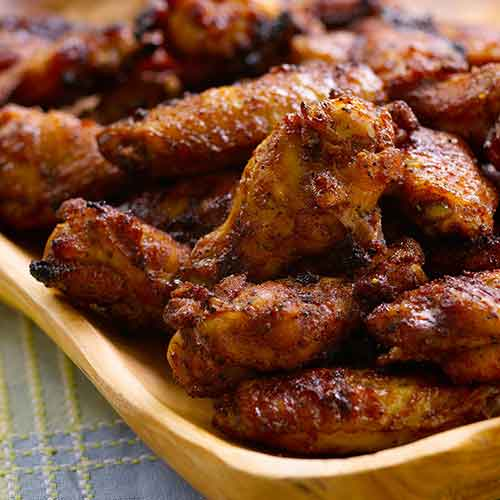 Spicy Apricot Chicken Wings