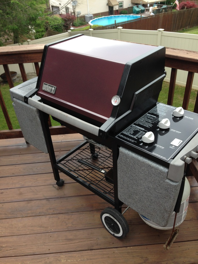 weber genesis silver b after restoration - Weber Gas Grill