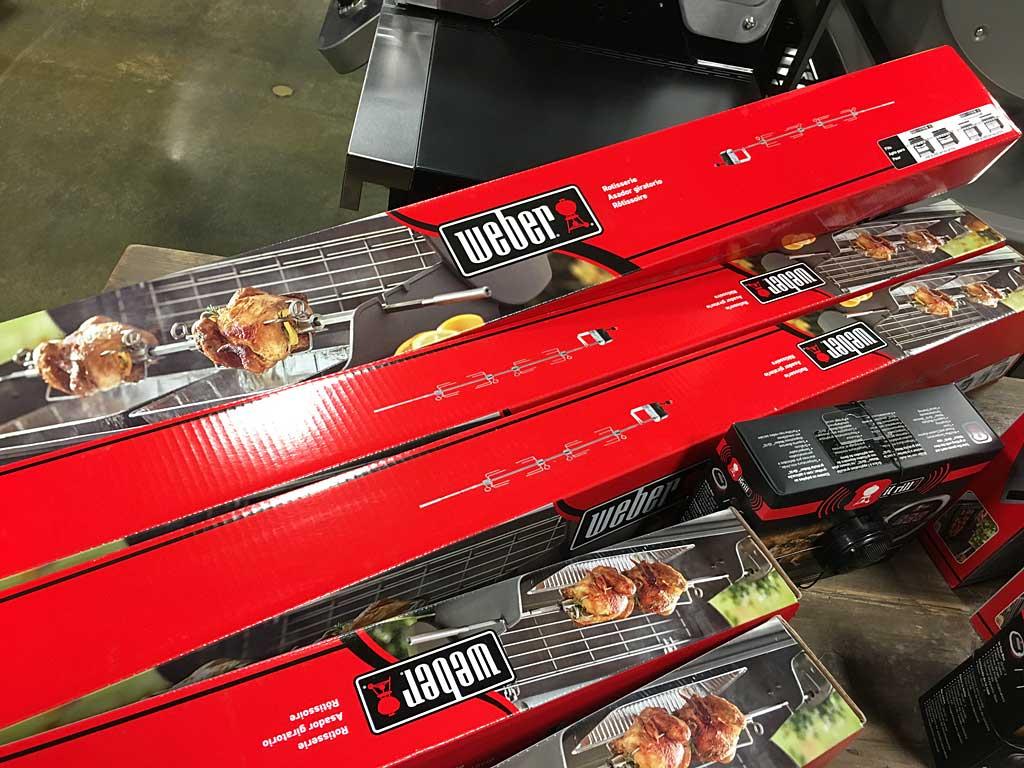 Rotisseries for Weber Genesis II/LX gas grills