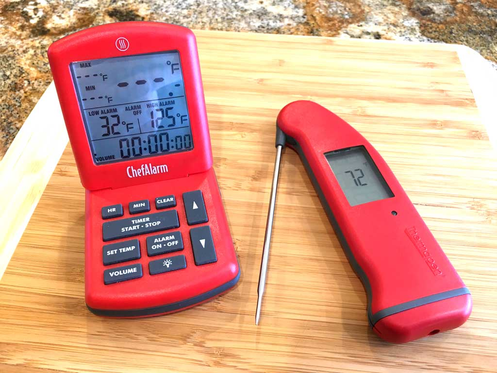 Better Together: ThermoWorks ChefAlarm probe thermometer & Thermapen Mk4 instant-read thermometer