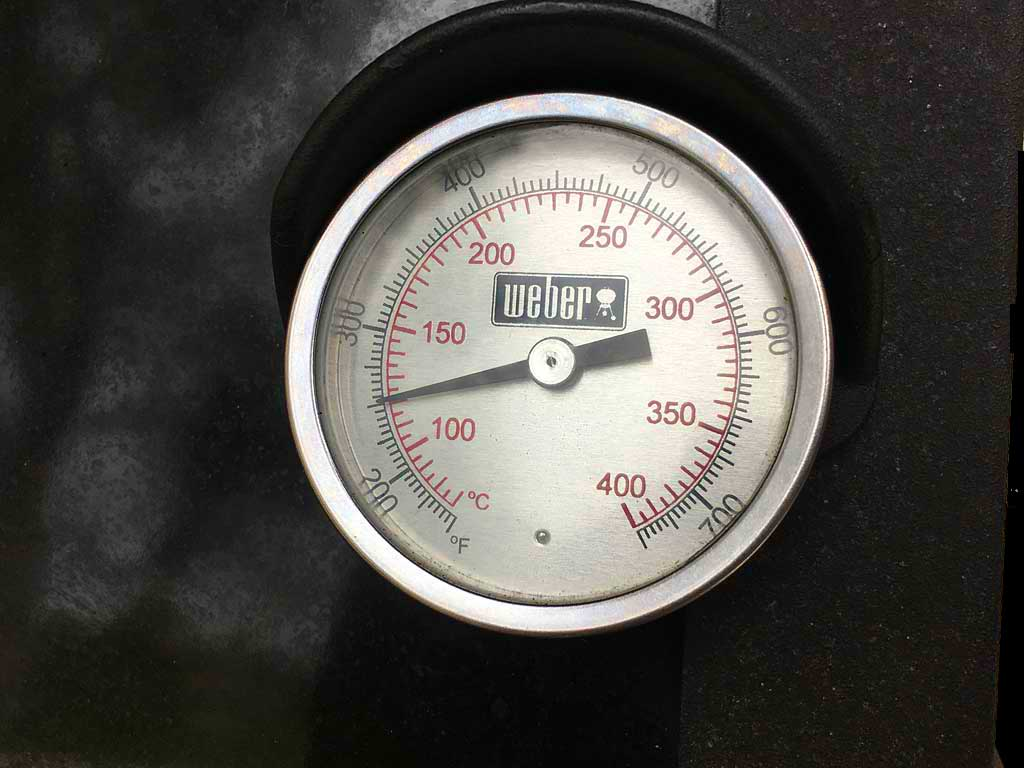 Low temp condition in Weber gas grill