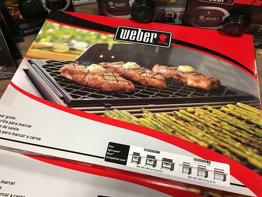 weber sear grate box - Weber Gas Grill