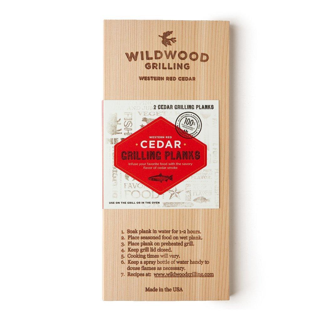 Wildwood Grilling Western Red Cedar grilling planks