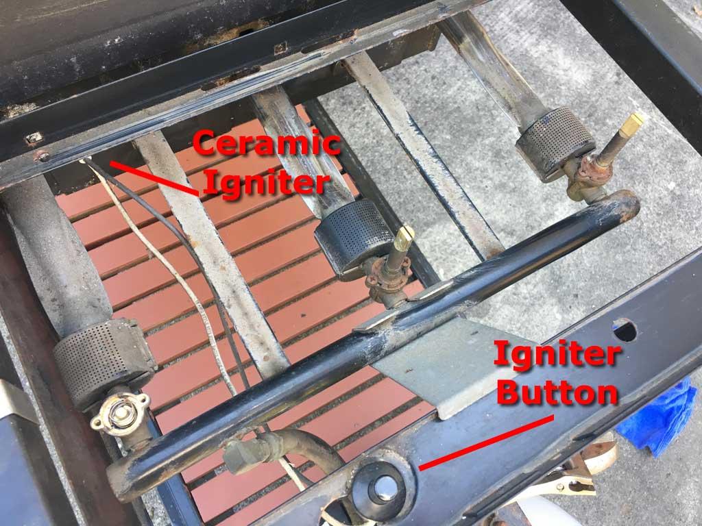 Example of Genesis 2 igniter configuration