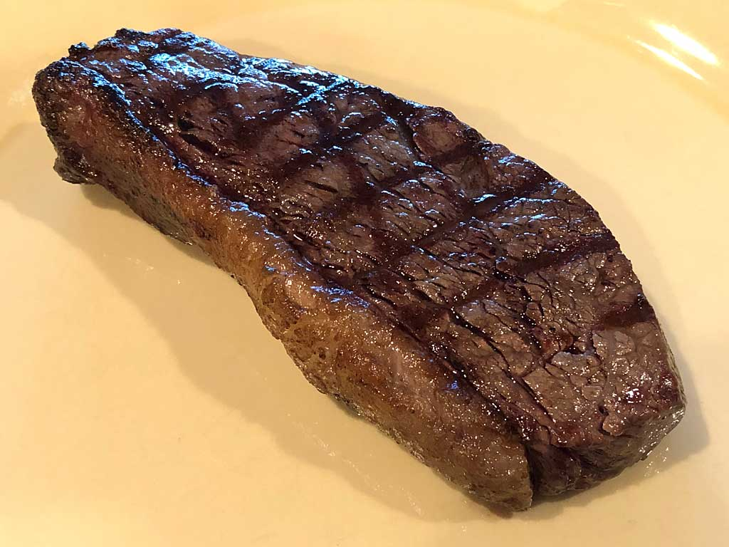 Picanha on a plate