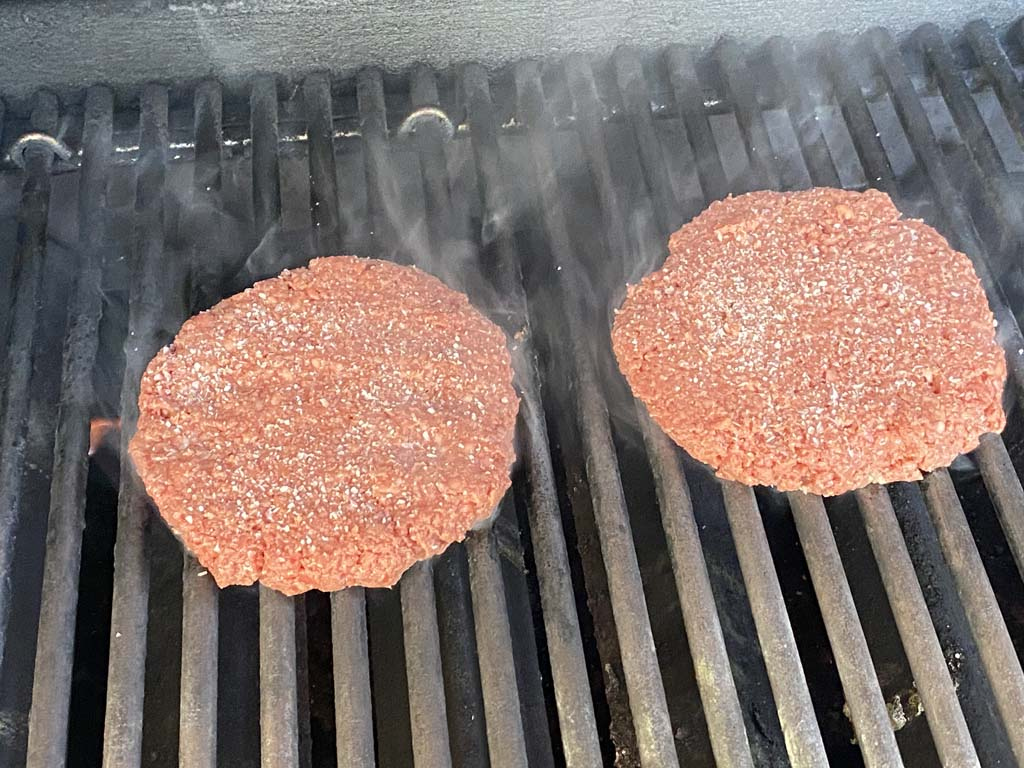 Impossible Burgers hit the grill
