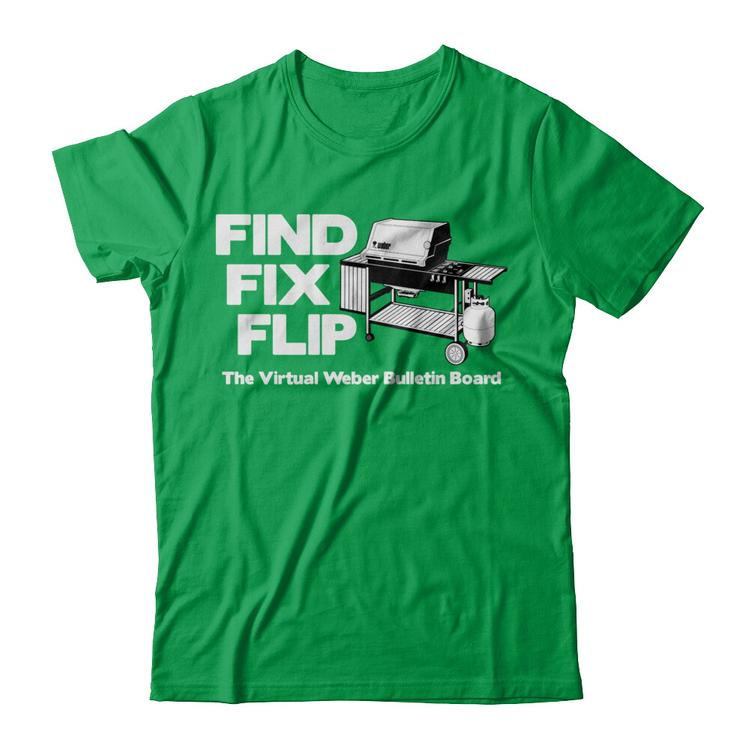 TVWBB Find Fix Flip t-shirt
