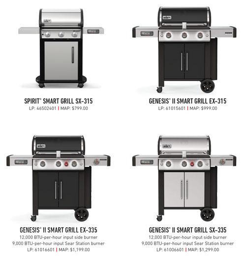 2021 Weber Smart Grills