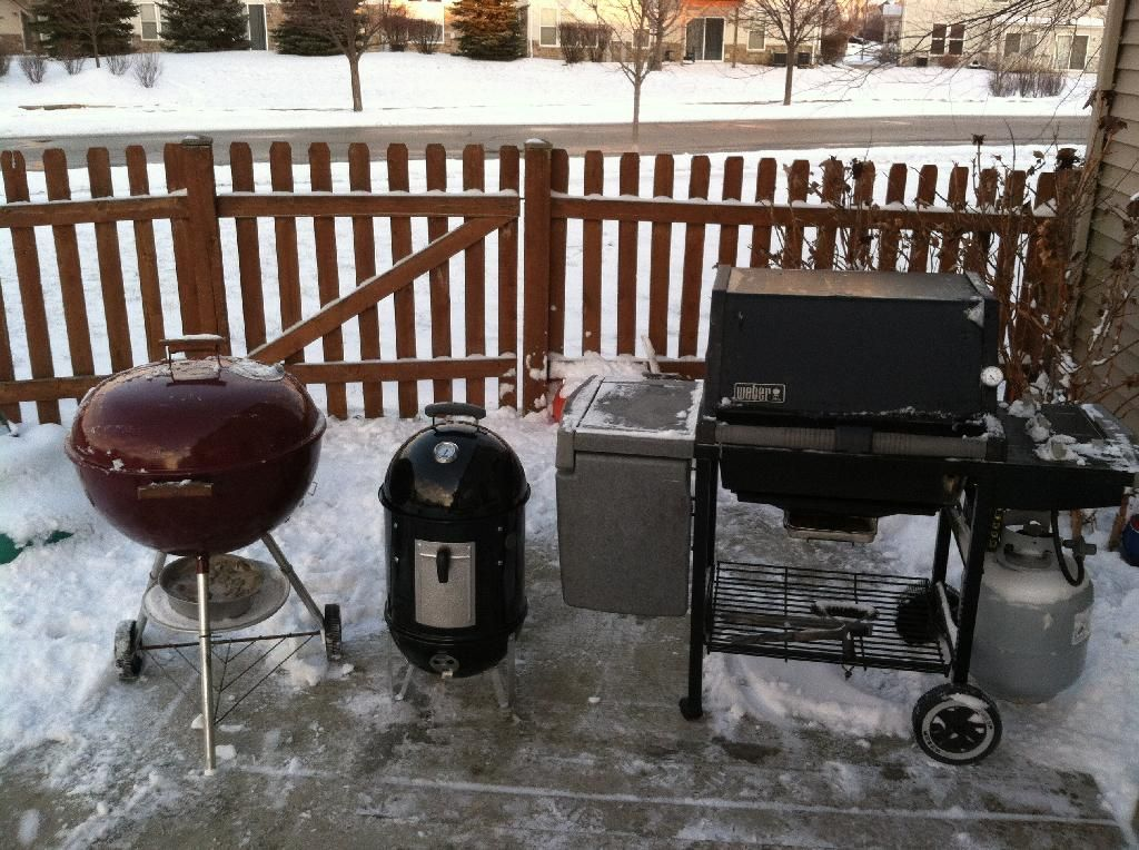 Grills in winter